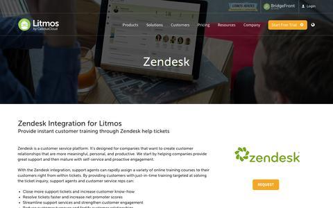Zendesk - Litmos