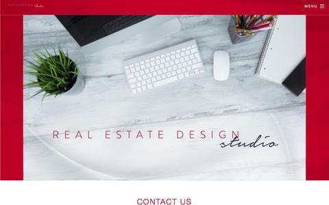 Screenshot of Contact Page realestatedesign.com.au - Contact us - Real Estate Design Studio - captured Nov. 3, 2017