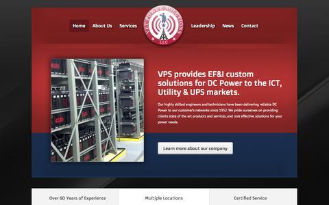 Screenshot of Home Page vetpowersolutions.com - Vet Power Solutions | Just another WordPress site - captured Jan. 28, 2015