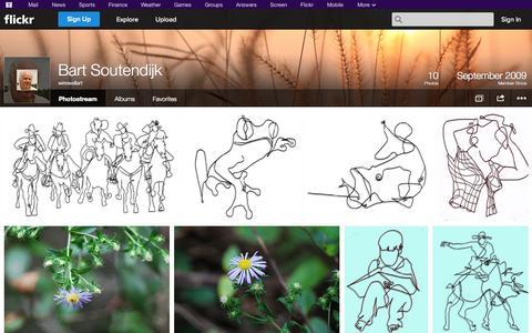 Screenshot of Flickr Page flickr.com - Flickr: wirewallart's Photostream - captured Oct. 26, 2014