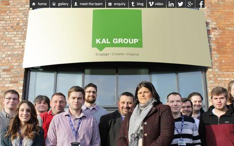 Screenshot of Team Page kal-group.com - Meet Kal Group's Marketing, Design and Online Management Team - captured Feb. 12, 2016
