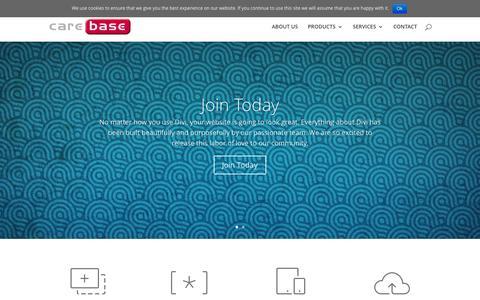 Screenshot of Signup Page carebase.net - Join   Carebase - captured Aug. 11, 2015