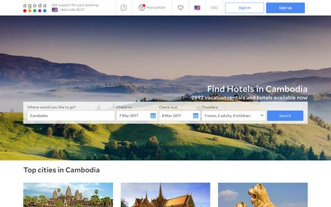 Cambodia Hotels - Online hotel reservations for Hotels in Cambodia