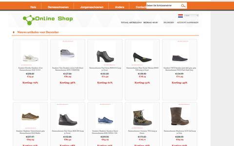 Screenshot of Home Page debedelaar.nl - 2016 Schoenen verkopen goedkope online - Nederland - captured Dec. 2, 2016
