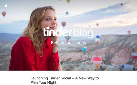 Screenshot of Blog gotinder.com - Tinder - captured Aug. 21, 2016