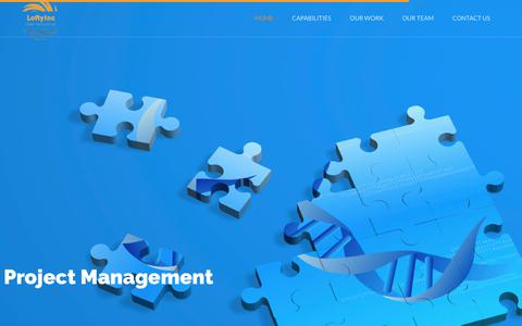Screenshot of Home Page loftyincltd.biz - LoftyInc   Allied Partners Limited - captured Sept. 1, 2017
