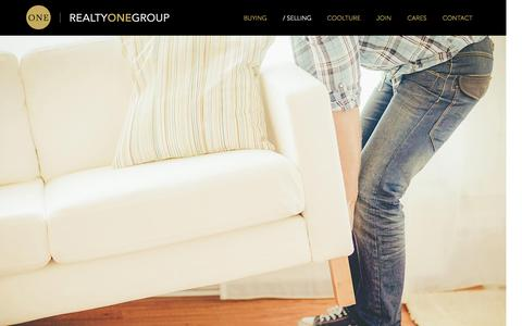 Screenshot of Services Page realtyonegroup.com - Selling Your Home: How to Sell Your House | Realty ONE Group - captured Nov. 21, 2015