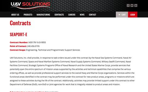 Contracts - UAV Solutions StoreUAV Solutions Store