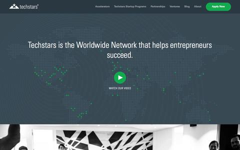 Techstars | The Worldwide Entrepreneur Network