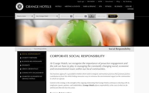 Grange Hotels in London | Hotel CSR London