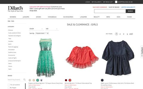 Sale & Clearance Kids | Girls | Dillards.com