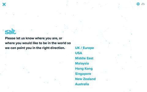 Screenshot of Contact Page welovesalt.com - Contact | We Love Salt - Asia - captured June 27, 2017