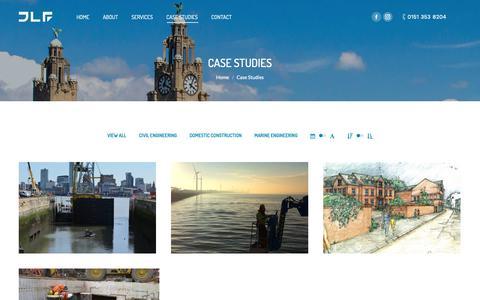 Screenshot of Case Studies Page jlfdevelopments.co.uk - Case Studies - JLF Developments - captured Oct. 1, 2018