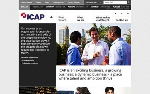 Careers – ICAP