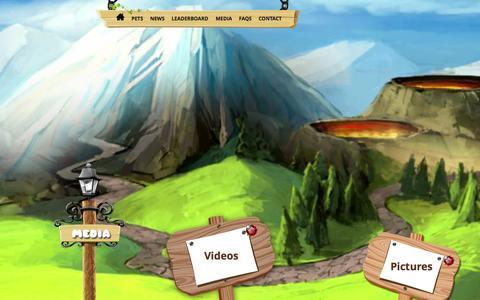 Screenshot of Press Page littlewispgame.com - Media - Little Wisp Game - captured Oct. 3, 2014