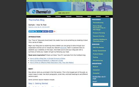 ThermoFab Blog
