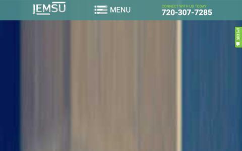 Screenshot of Home Page jemsu.com - Denver SEO & Digital Marketing | Web Design & PPC | JEMSU - captured Dec. 11, 2015