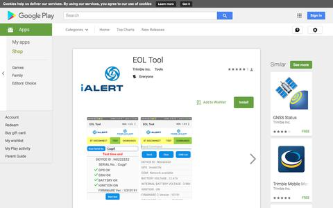 EOL Tool - Android Apps on Google Play