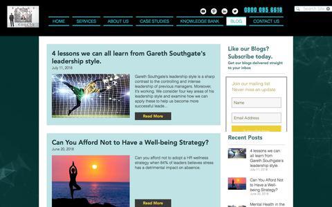 Screenshot of Blog exactaresearch.co.uk - Exacta Research | Blogs | Executive Research - captured July 21, 2018
