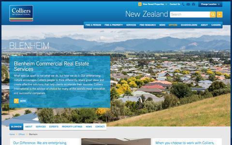 Blenheim Office | New Zealand | Colliers International