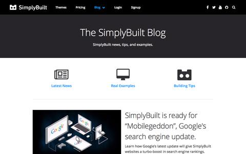SimplyBuilt: Domains, DIY Website Builder, and Hosting all in one place. | Blog