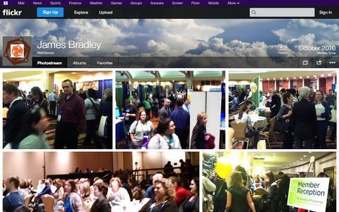 Screenshot of Flickr Page flickr.com - Flickr: WebServes' Photostream - captured Oct. 26, 2014