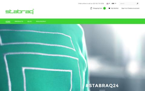 Screenshot of Home Page stabraq.com - Shop – Stabraq - captured Feb. 25, 2016