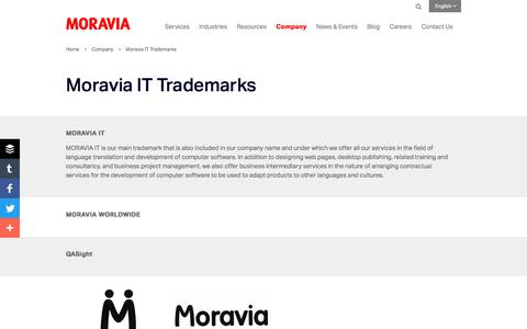 Moravia IT Trademarks - Moravia