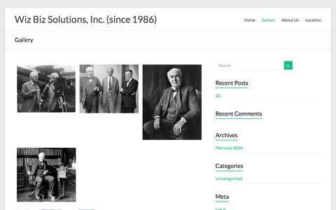 Gallery – Wiz Biz Solutions, Inc. (since 1986)