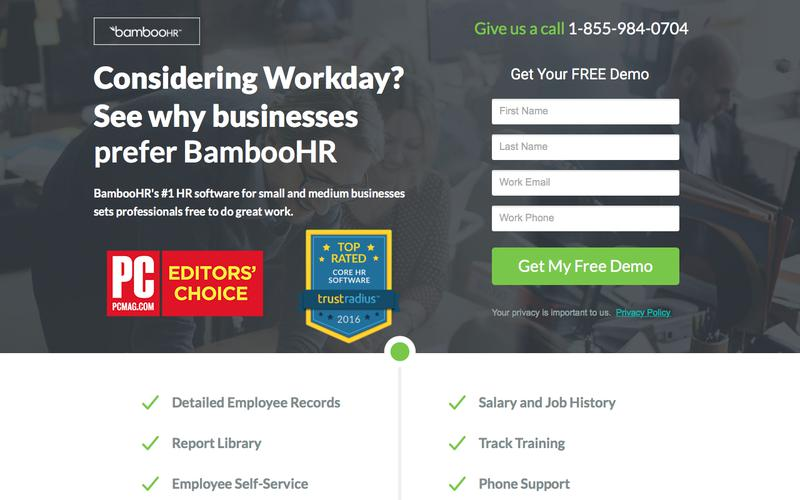 BambooHR   #1 HRIS for Small and Medium Businesses