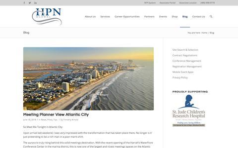 Screenshot of Blog hpnglobal.com - HPN Global Reviews - captured July 15, 2018