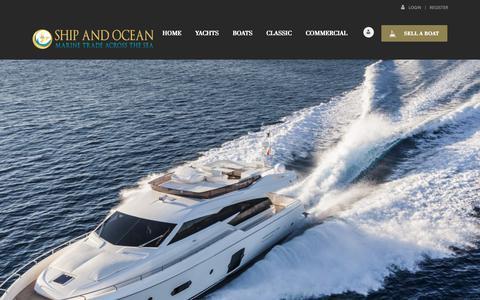 Screenshot of Contact Page shipandocean.com - Contact Us - Ship and Ocean - captured Dec. 12, 2018