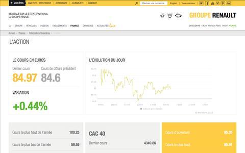 Screenshot of renault.com - L'action - captured March 29, 2016