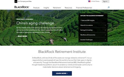 BlackRock Retirement Institute | BRI Insights