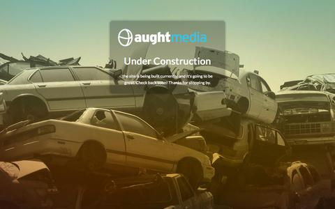Screenshot of Contact Page aughtmedia.com - Contact - Aught Media - captured Aug. 2, 2015