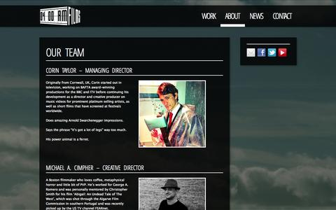 Screenshot of Team Page 4amfilms.co.uk - Our team - 4am Films - captured Oct. 27, 2014