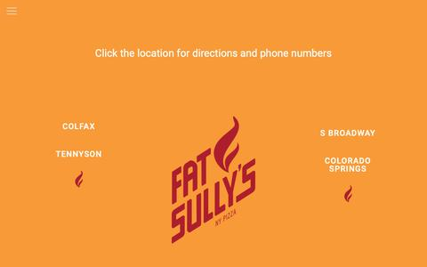 Screenshot of Locations Page fatsullys.com - Locations - Fat Sully's - captured Oct. 22, 2018