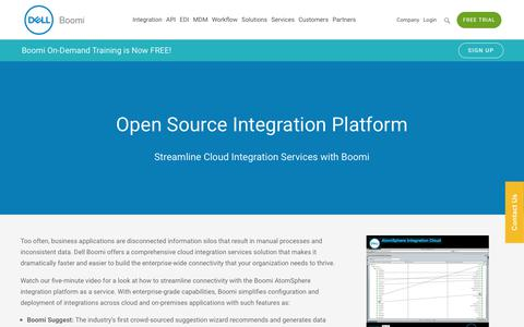 Cloud Integration Services - Dell Boomi