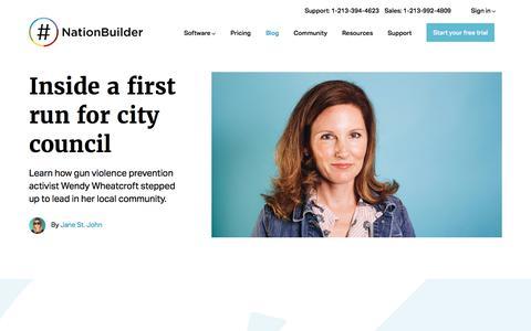 Screenshot of Blog nationbuilder.com - Blog - NationBuilder - captured Jan. 23, 2020