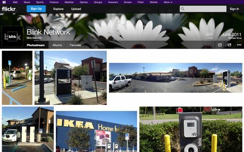 Screenshot of Flickr Page flickr.com - Flickr: Blink Network's Photostream - captured Oct. 23, 2014
