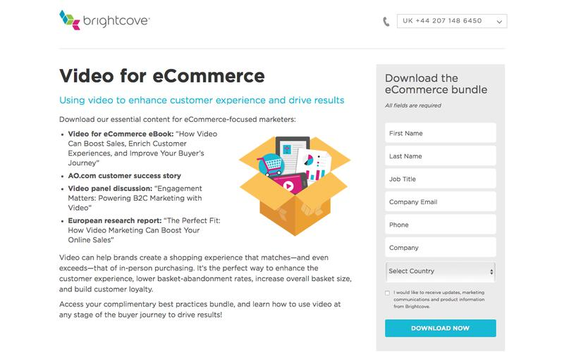 Brightcove | Video for eCommerce