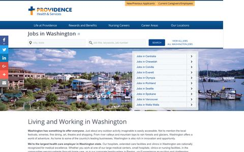 Screenshot of Home Page providence-washington.jobs - Providence Washington Jobs - captured Jan. 24, 2017