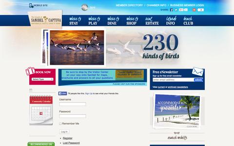 Screenshot of Login Page sanibel-captiva.org - Login - Sanibel Captiva Chamber of Commerce - captured Sept. 19, 2014