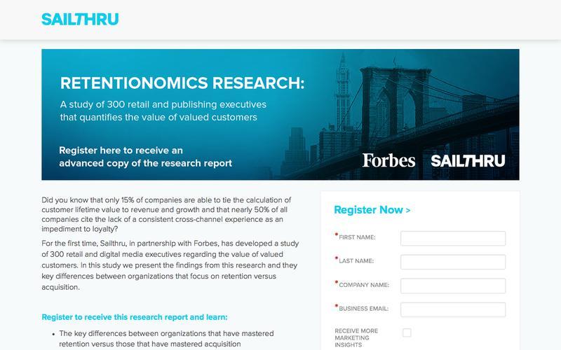 Retentionomics Research