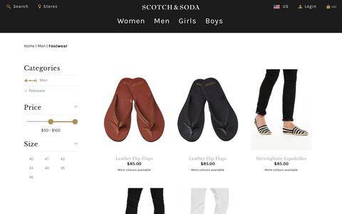 Men's Shoes | Scotch & Soda | Official Webstore