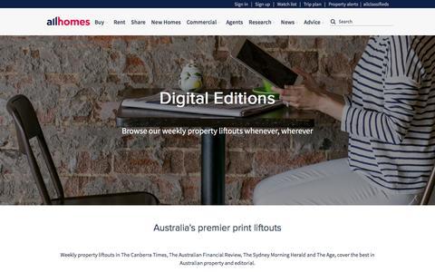 Allhomes Digital Editions | allhomes