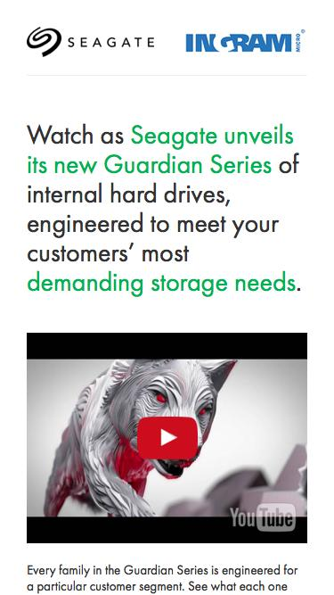 Seagate Guardian Series Video