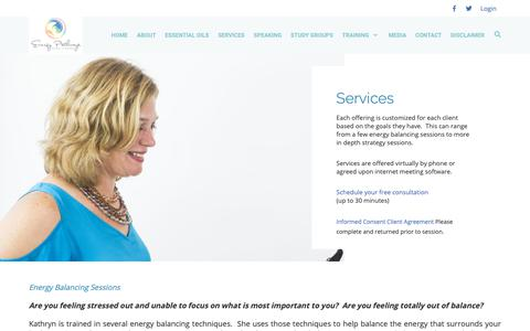 Screenshot of Services Page energy-pathways.com - Energy Pathways - Services - captured Sept. 28, 2018
