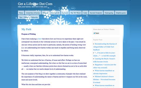 Screenshot of About Page getalifetime.com - My Path | Get a Lifetime Dot Com - captured Sept. 29, 2014