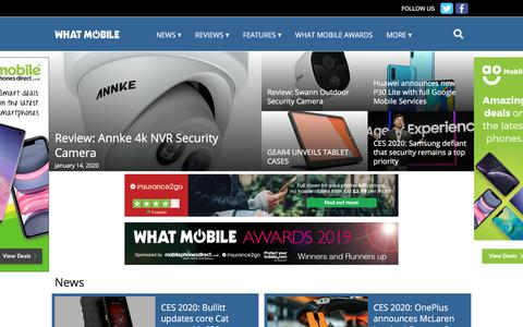 Screenshot of Home Page whatmobile.net - Home - What Mobile - captured Jan. 21, 2020